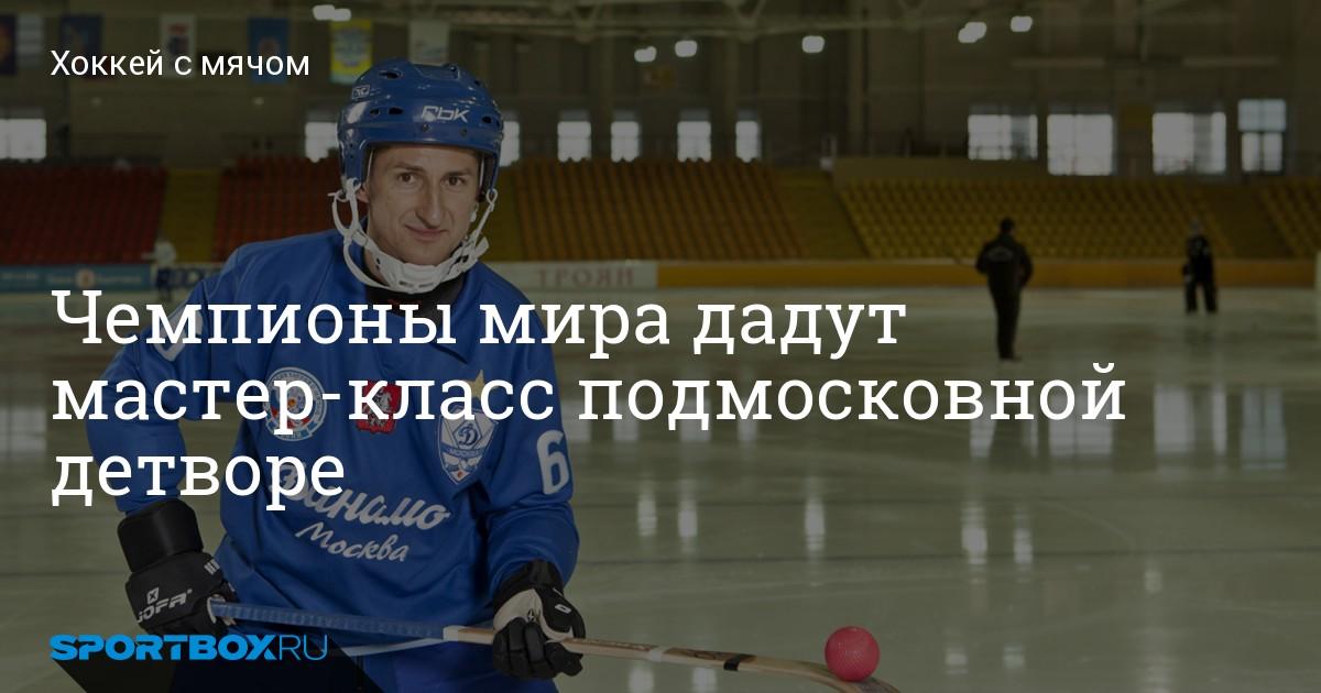 Мастер класс хоккей с мячом