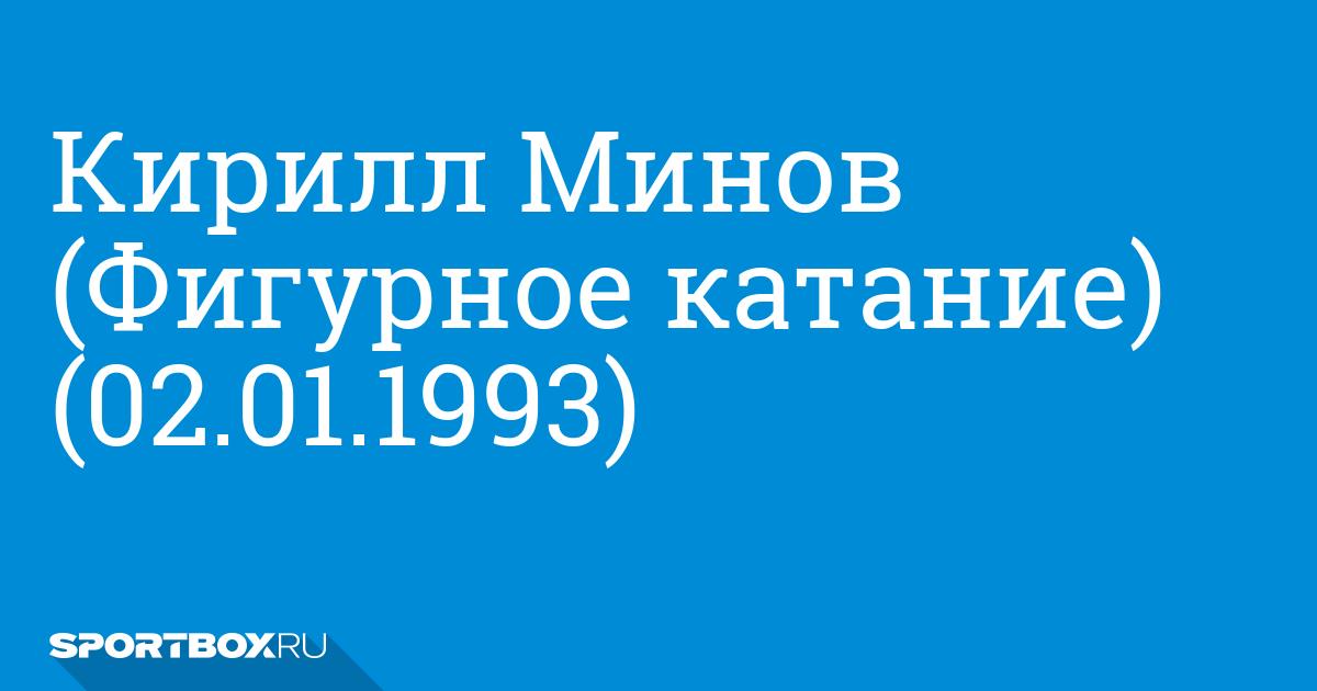 Кирилл Минов