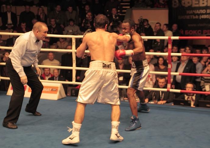 Боксерское шоу в москве (видео) (1) хабиб аллахвердиев - игнасио мендоса