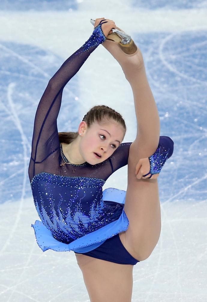 Голая Трусова