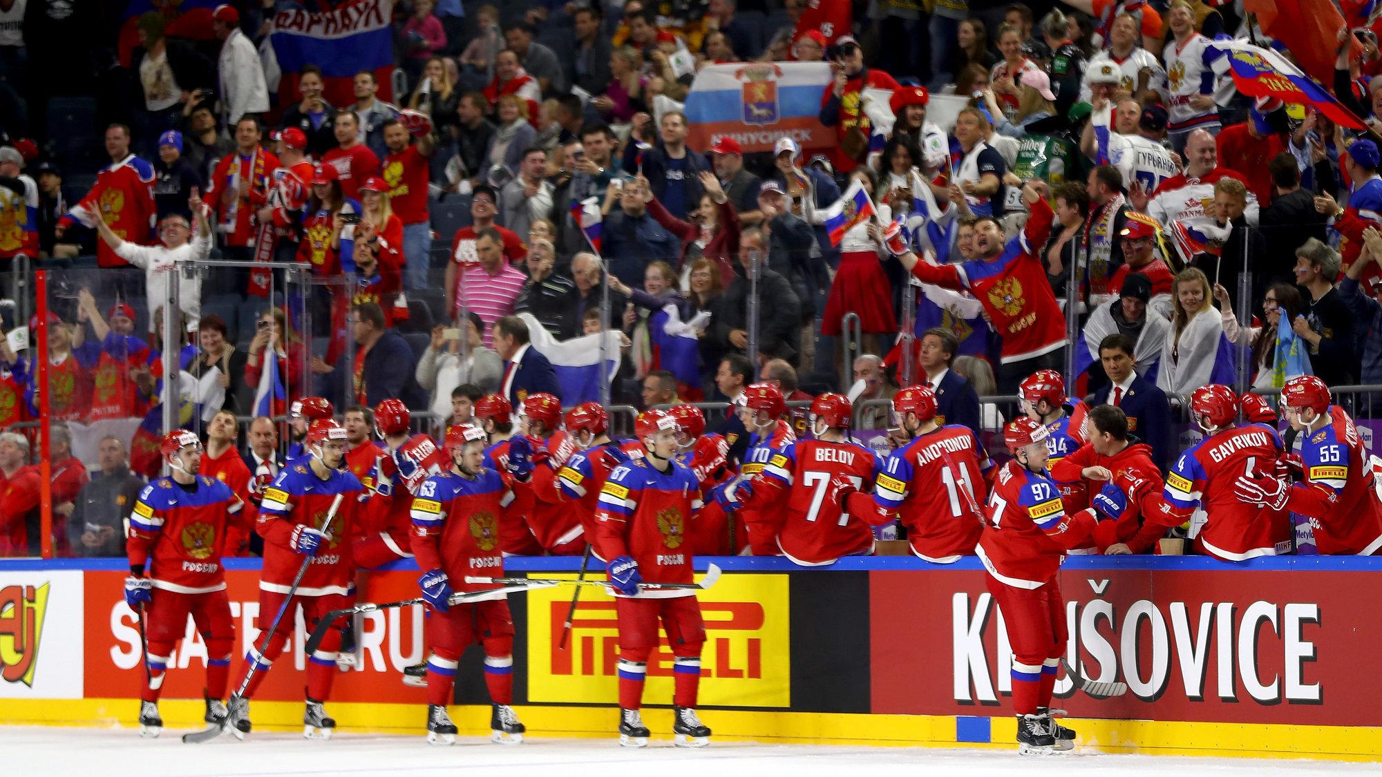 Когда играют сборная россии по хоккею 2018 где