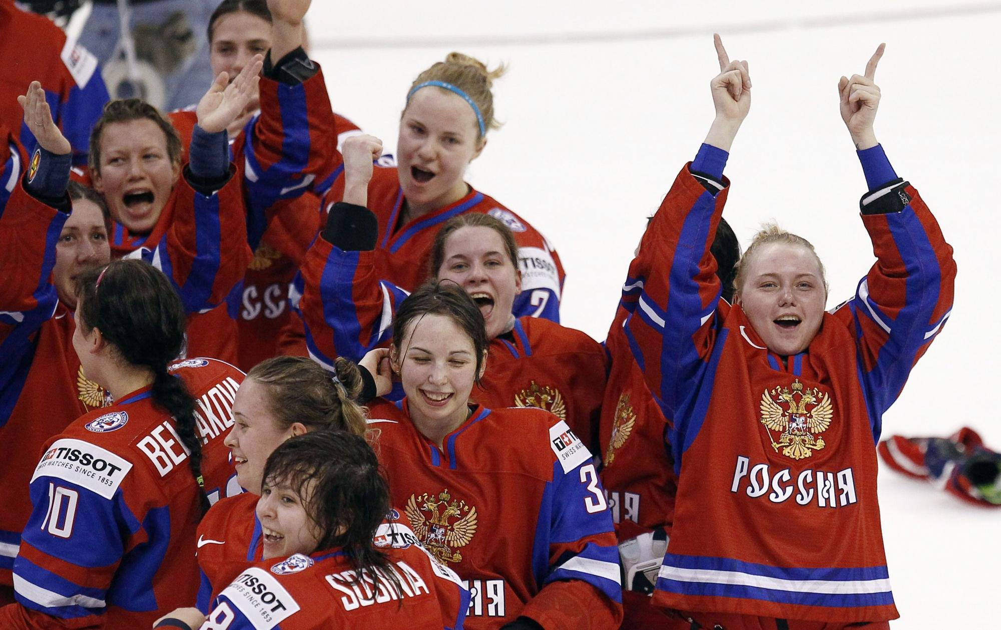 Женская сборная россии по хоккею фото